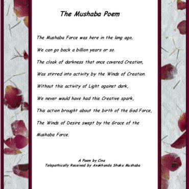 Mushaba Poem Rose Background