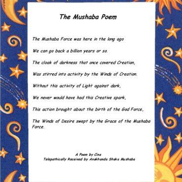 Mushaba Poem Star Background