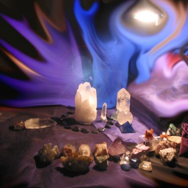 The Mushaba Crystal Healing session