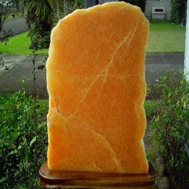 Huge 55lb orange calcite